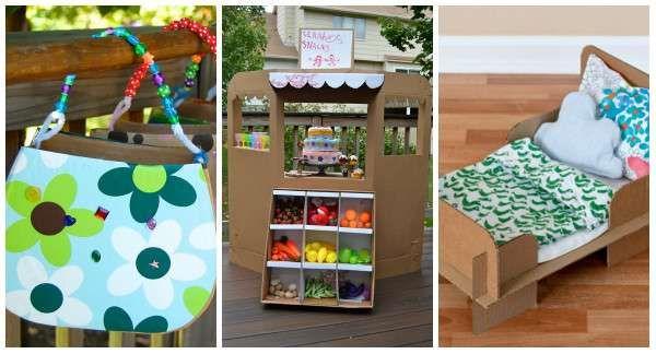 17 id es de jouets en carton fabriquer soi m me pour louis diy. Black Bedroom Furniture Sets. Home Design Ideas
