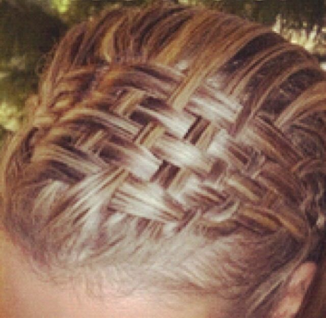 Cute basket weave