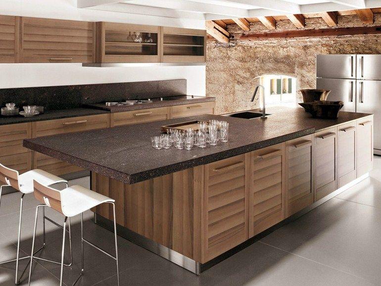 cucine design legno - Cerca con Google   Cucina   Pinterest   Cucine ...