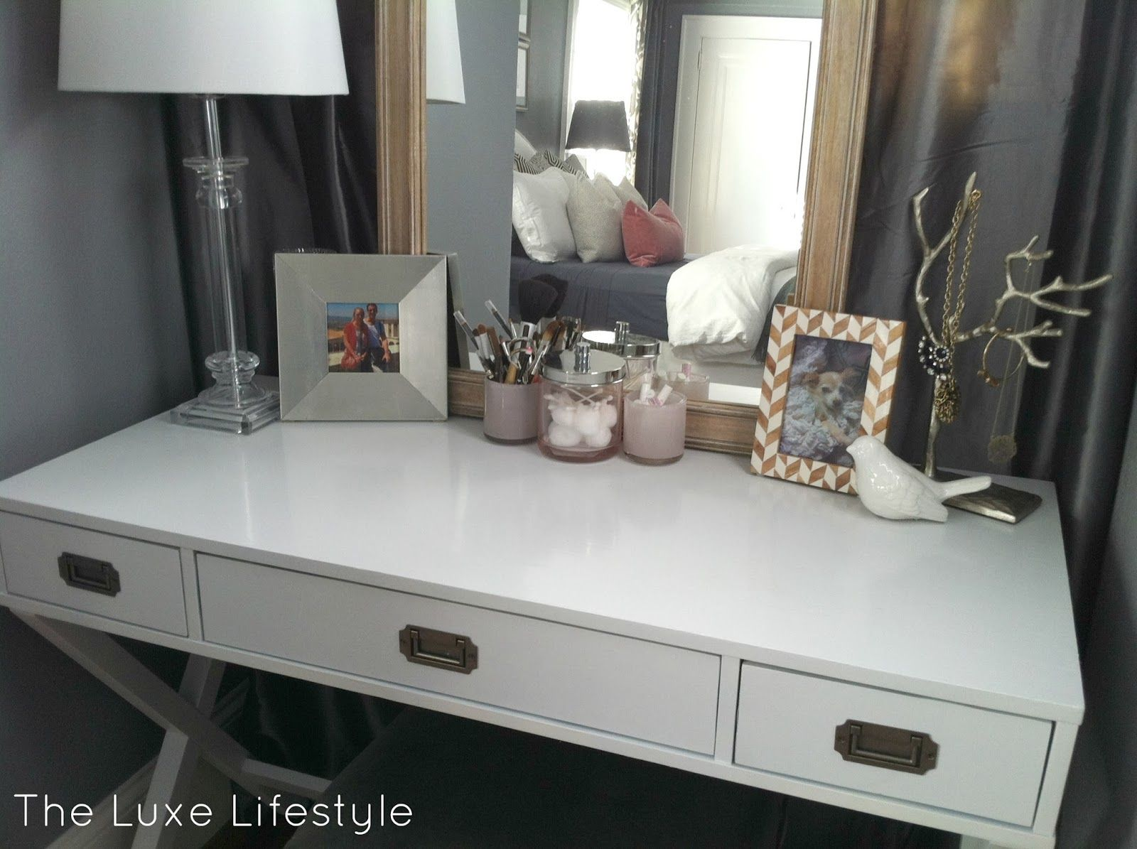 Luxe Lifestyle - Target Campaign Desk 134 Painted