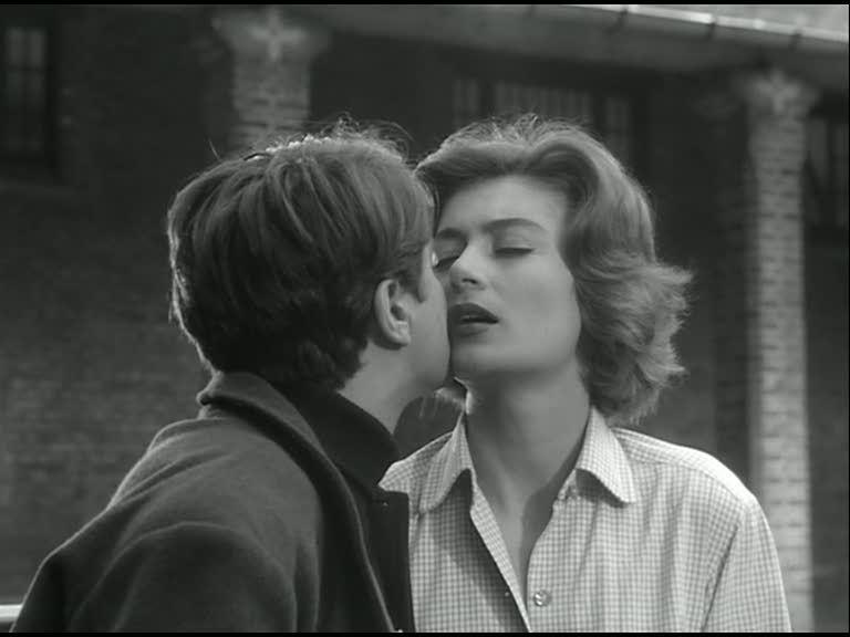 Anouk Aimée in La tête contre les murs directed by George Franju, 1959