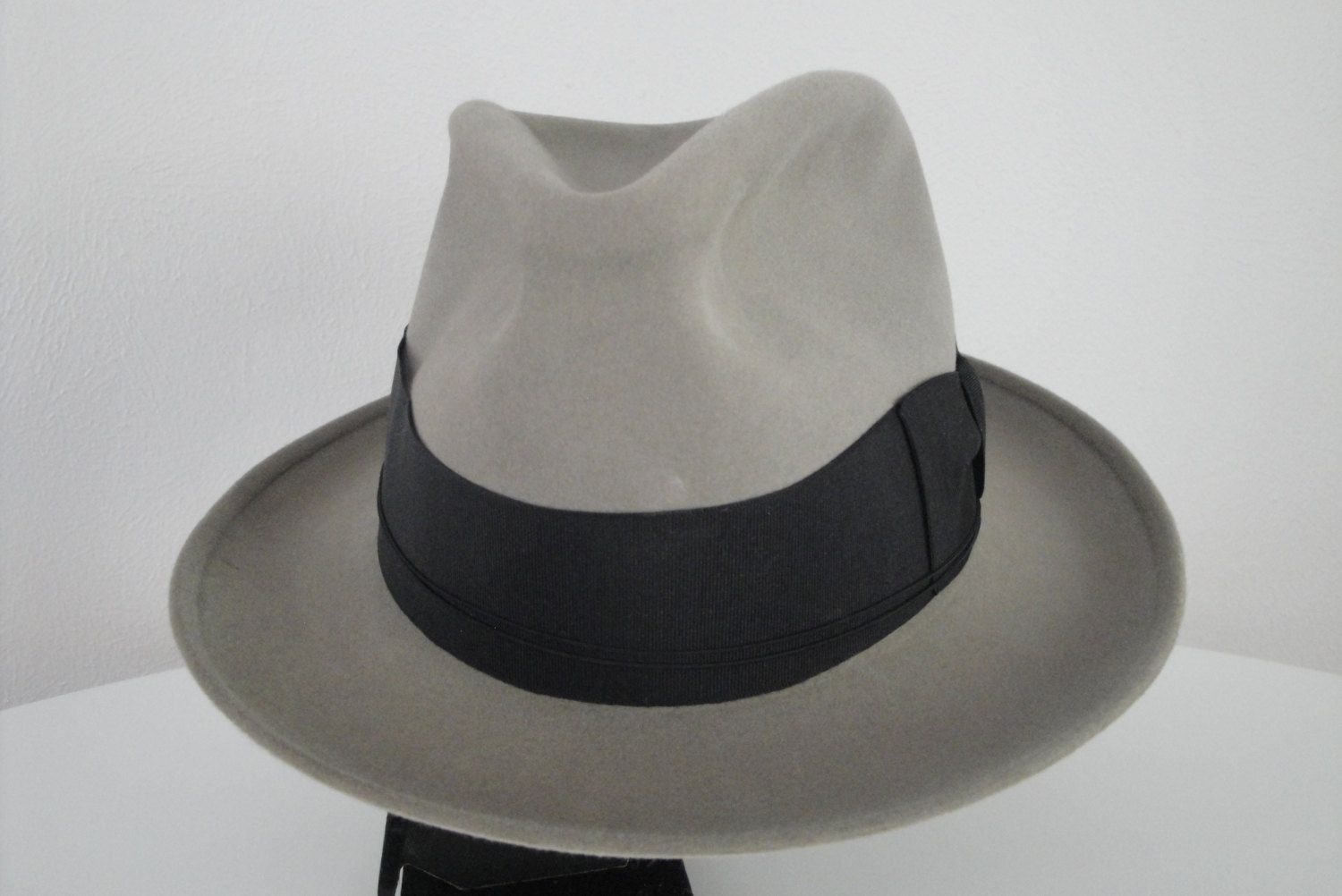 Vintage 1940s 40s or 1930s 30s Mens Hat Borsalino Fedora Made in Italy WWII  Gangster.  165.00 750ac4d6c1b9