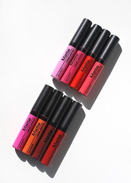 Santee Matte Liquid Lipstick- Fall Tones