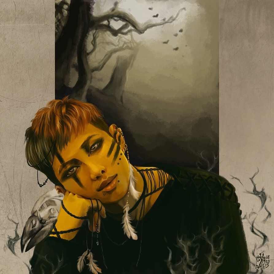 Dark Namjoon by RebirthOfAWasteland deviantart com on @DeviantArt
