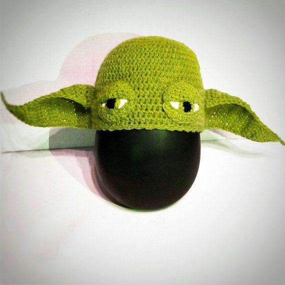Yoda Hat Crochet Pattern Yoda Gloves Crochet Pattern Set Star