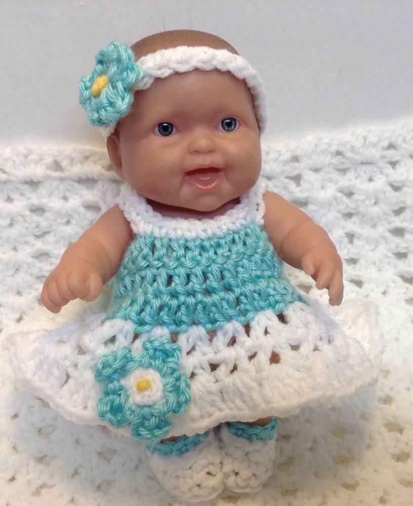 Doll Clothes 10 Inch 8 Inch Fits Berenguer Lots To Love Reborn Dress Set Doll Clothes Set Dress Doll Clothes Patterns