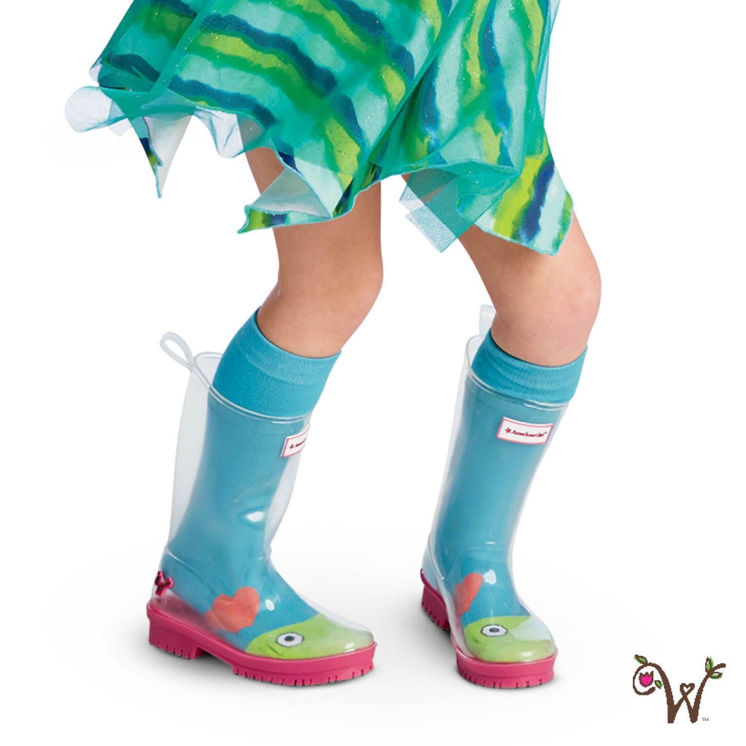 Peek-a-Boo Wellies for Girls   American