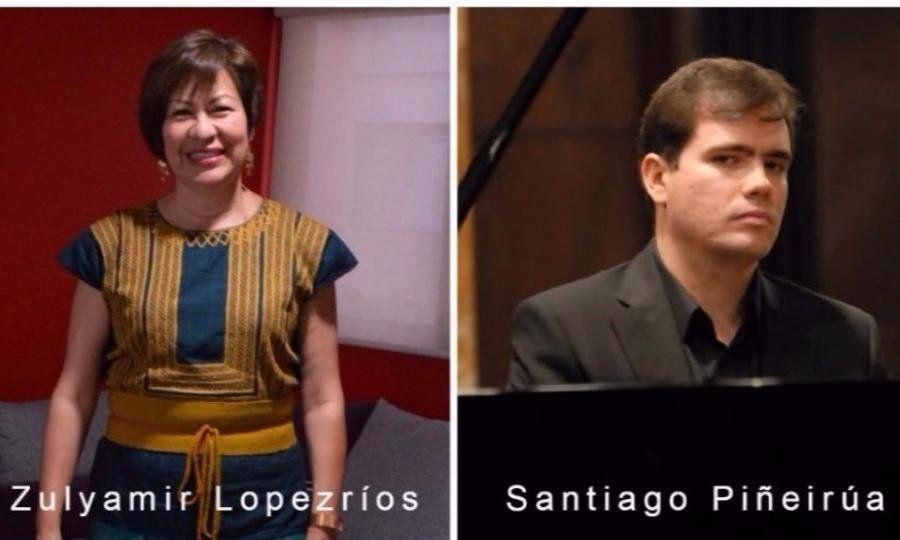 Ofrecerán dos conciertos la soprano Zulyamir Lopezríos y el pianista Santiago Piñeirúa
