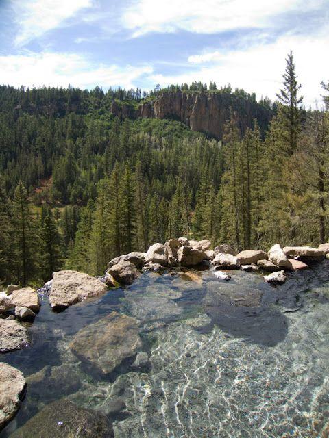 San Antonio Hot Springs New Mexico Places Pinterest