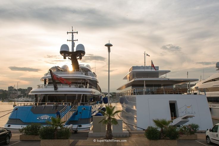 Venus and Madame Gu meet for the first time - World's Largest Yachts ...- AJ MacDonald - Yacht Broker - aj.macdonald@alliedmarine.com
