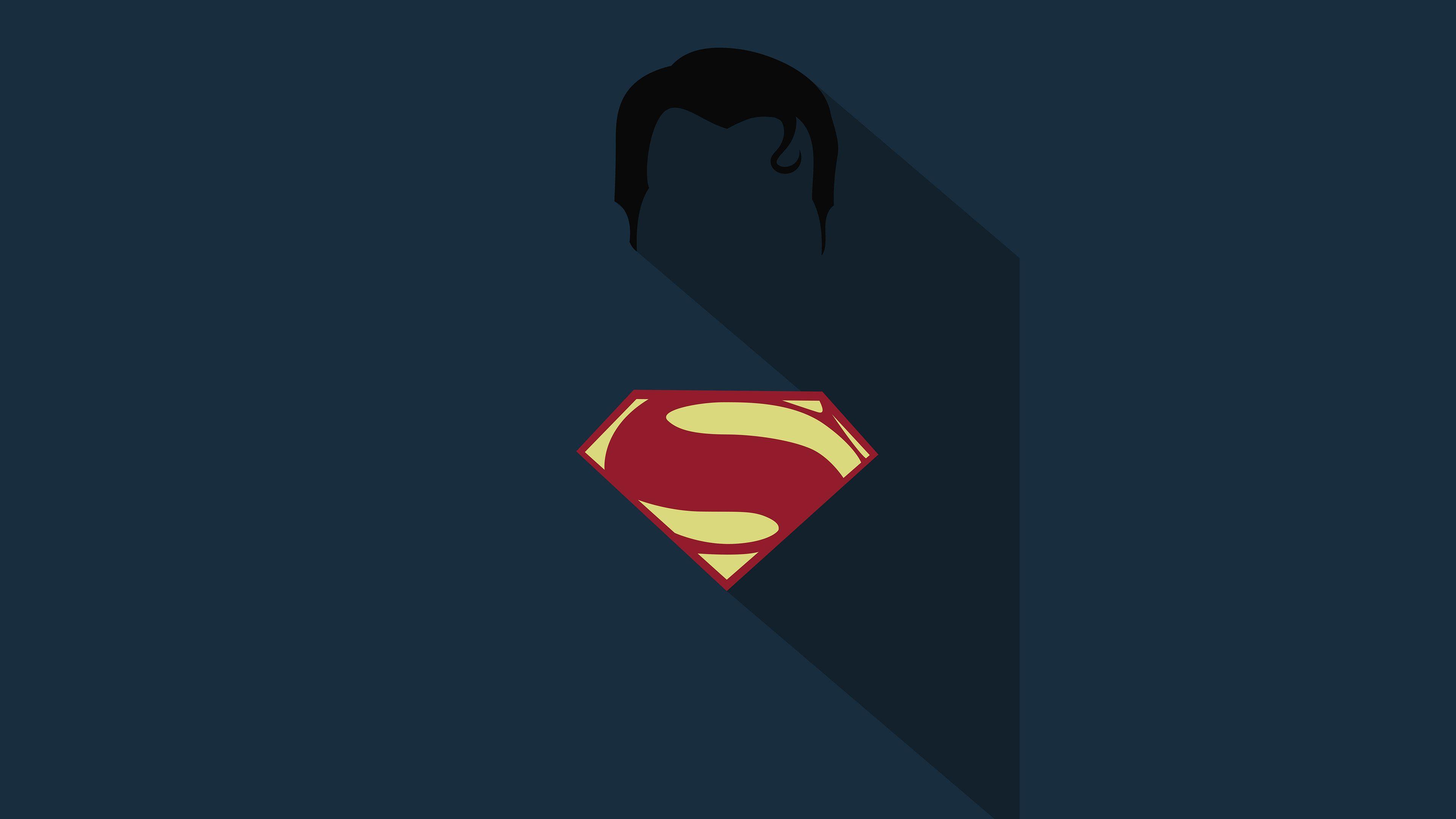 Superman Minimalism Poster HD http//livewallpaperswide