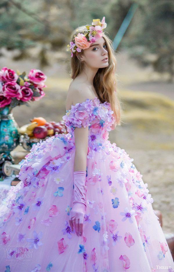 Tiglily(wedding dress in princess style) | Women\'s Fashion ...