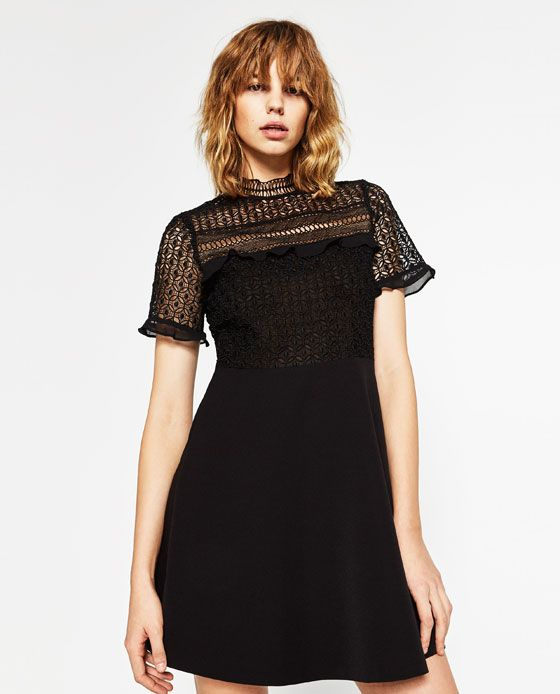 Image 2 of LACE DRESS from Zara