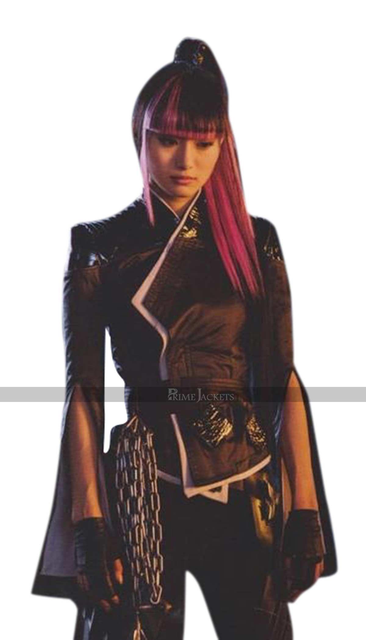 Yukio Deadpool 2 Black Leather Costume Marvel Fashion Marvel Girls Super Hero Costumes