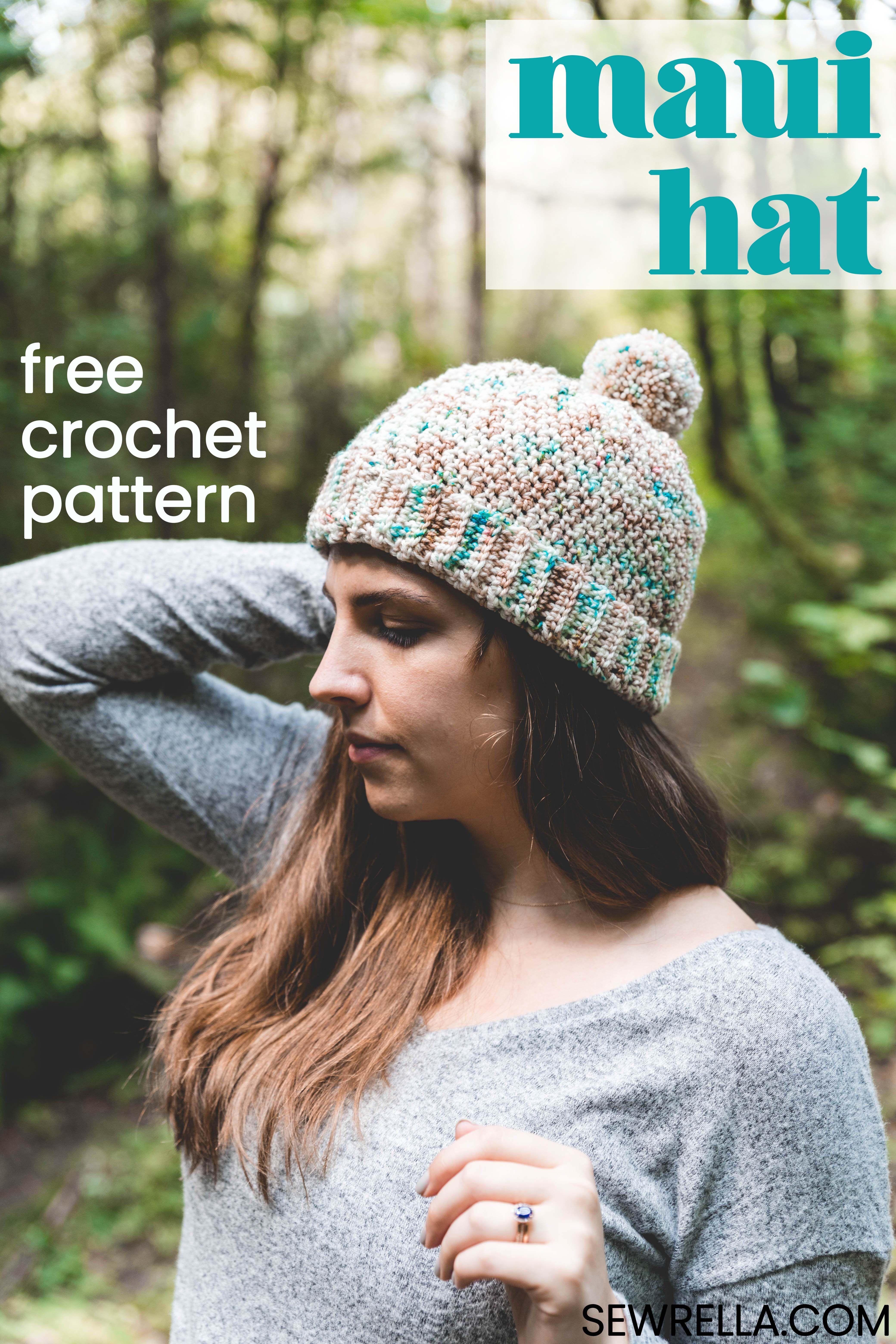 Crochet Maui Hat Pattern | Top Blogs - Pinterest Viral Board | Pinterest