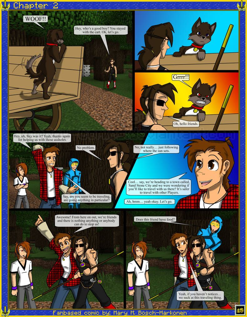 Skyarmy Origins Chapter 2 15 By Tomboy Comics Comics