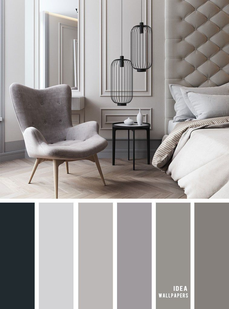 11 Gorgeous Bedroom In Grey Hues Grey Color Schemes Grey Bedroom Color Bedroomcolor Grey Bedroom Colors Bedroom Color Schemes Living Room Color Schemes