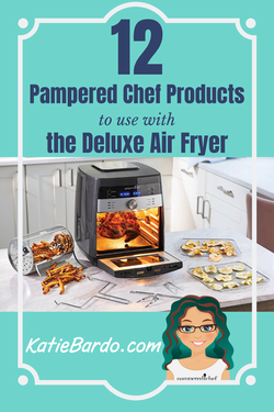 12 Pampered Chef Products To Use In Your Deluxe Air Fryer In 2020 Pampered Chef Air Fryer Air Fryer Recipes Keto