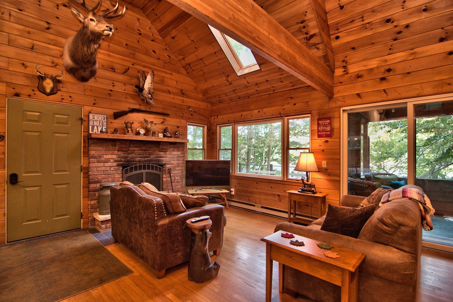 Enjoy family time in the beautiful living room at this