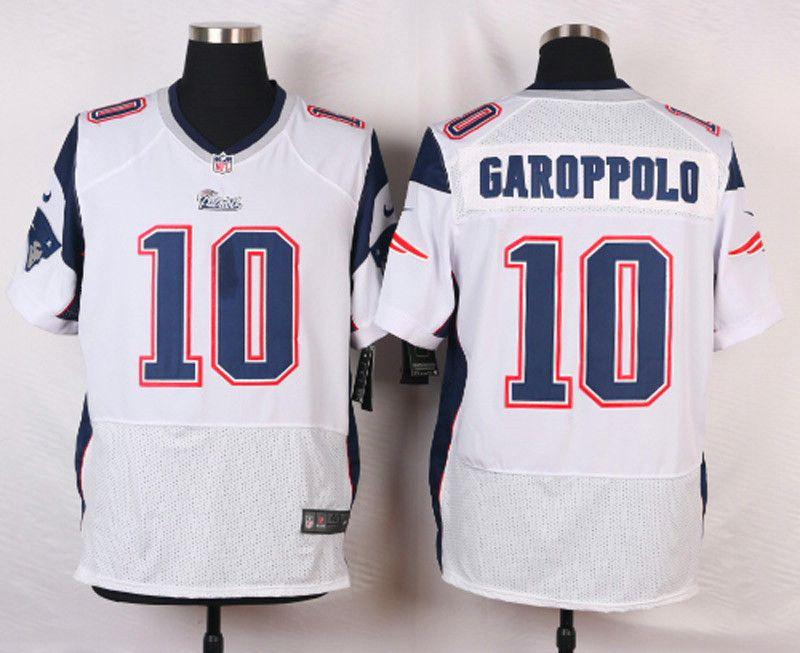 Elite Jimmy Garoppolo New England Patriots Jersey -  10 White Mens ... 3d02577c2