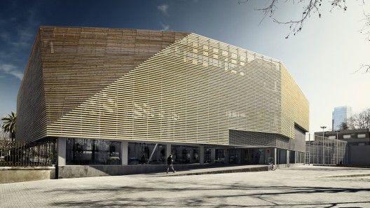 Sports Facility / Batlle i Roig Arquitectes © José Hevia