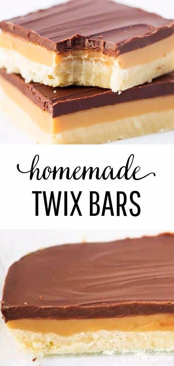 Photo of Homemade Twix Cookie Bars Recipe – I Heart Naptime
