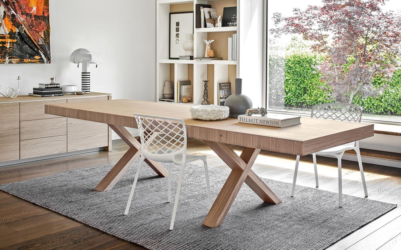 Extending Outdoor Dining Table Rectangular Extending Table Two Calligaris Cs 4083 R Trending