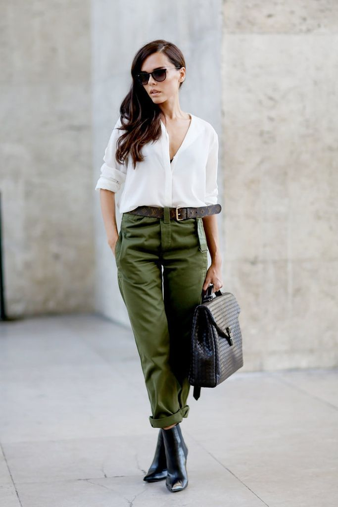 30 Fashionable Cargo Pants for Cool Women Look