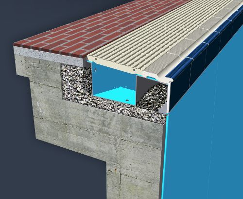 Myrtha Renovaction Solution Gutter Substitution In The Pools Contact Nationwide Commercial Aquatics Canadian Swimming Pools Pool Renovation Outdoor Design