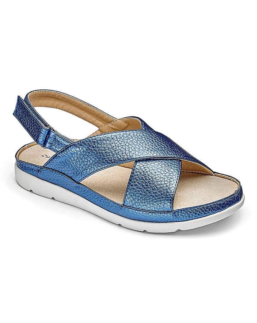 7db4814feed Cushion Walk Sandals E Fit