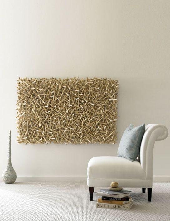 Schön Öko Möbel Wanddeko Weißer Sessel Holz