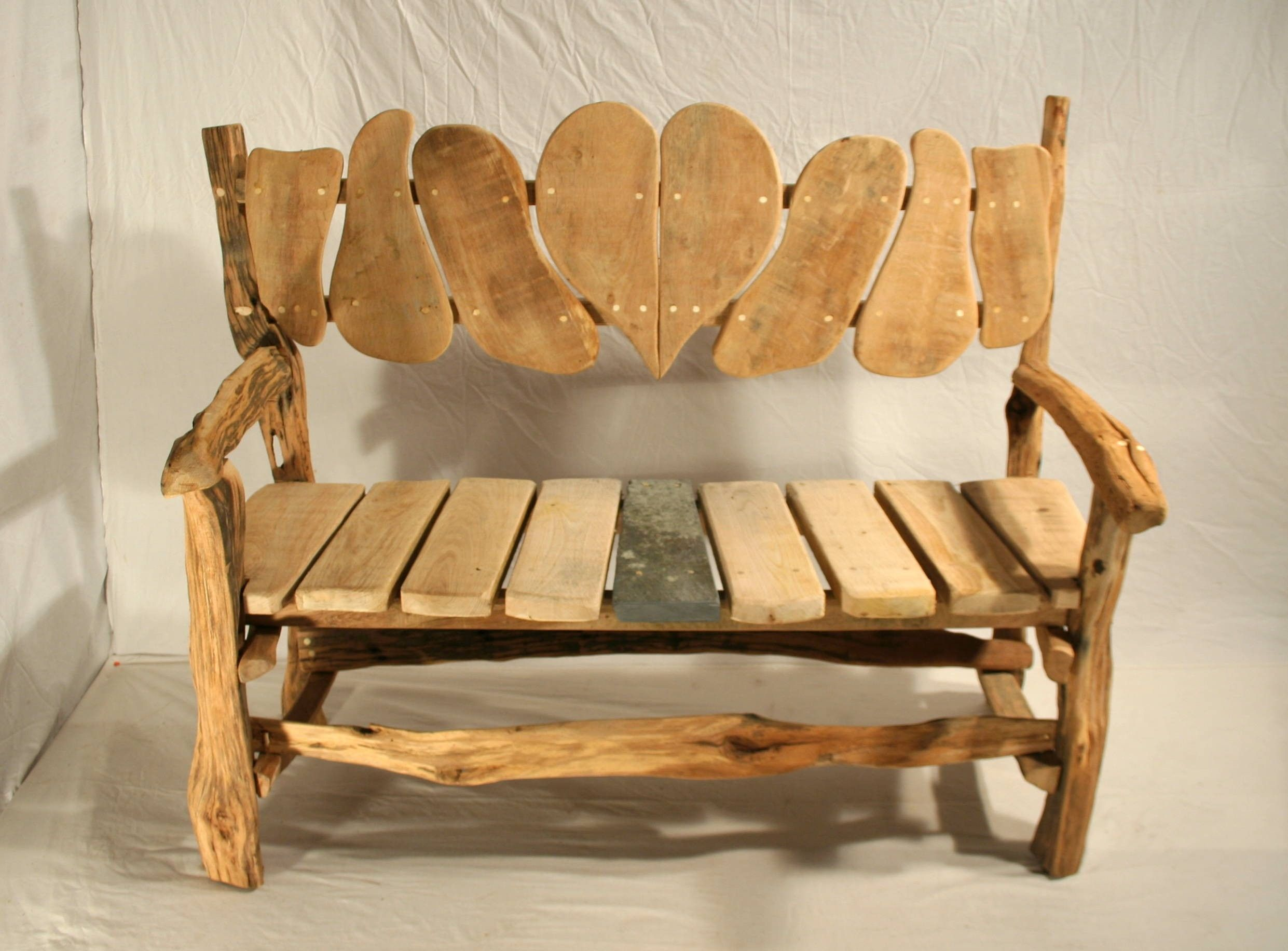 Woodland Love Seat & Garden Bench Adirondack chairs for