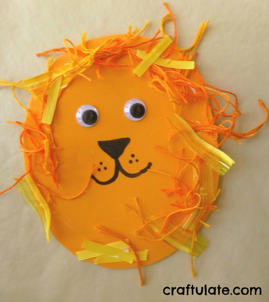 Lion Crafts for Toddlers | Lion craft, Craft and Activities