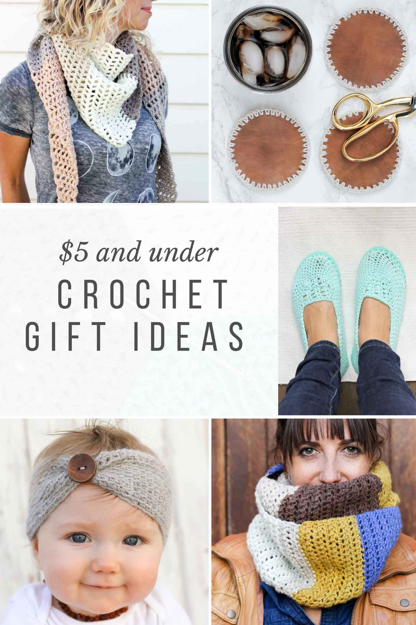 10+ Crochet Gift Ideas to Make for $5 or Less | Bordes de ganchillo ...