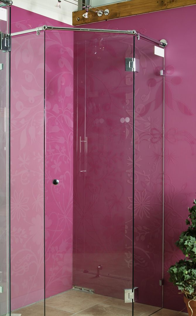 BATHROOM GLASS SPLASHBACKS  Old Bathroom Tiles Are Falling Of The Wall And  Breaking. To