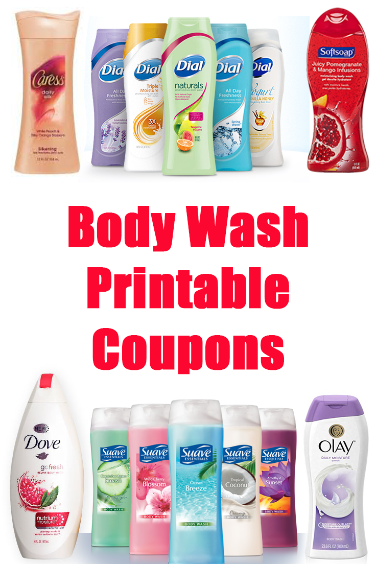 graphic regarding Suave Printable Coupons named Preserve upon physique clean getting printable coupon codes (Olay, Clever, Dove