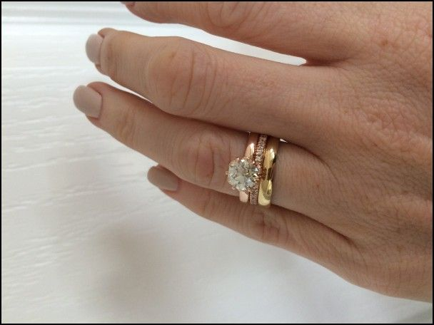 Wedding Ring And Engagement Ring Together Wedding Rings Wedding Rings Engagement Engagement Rings