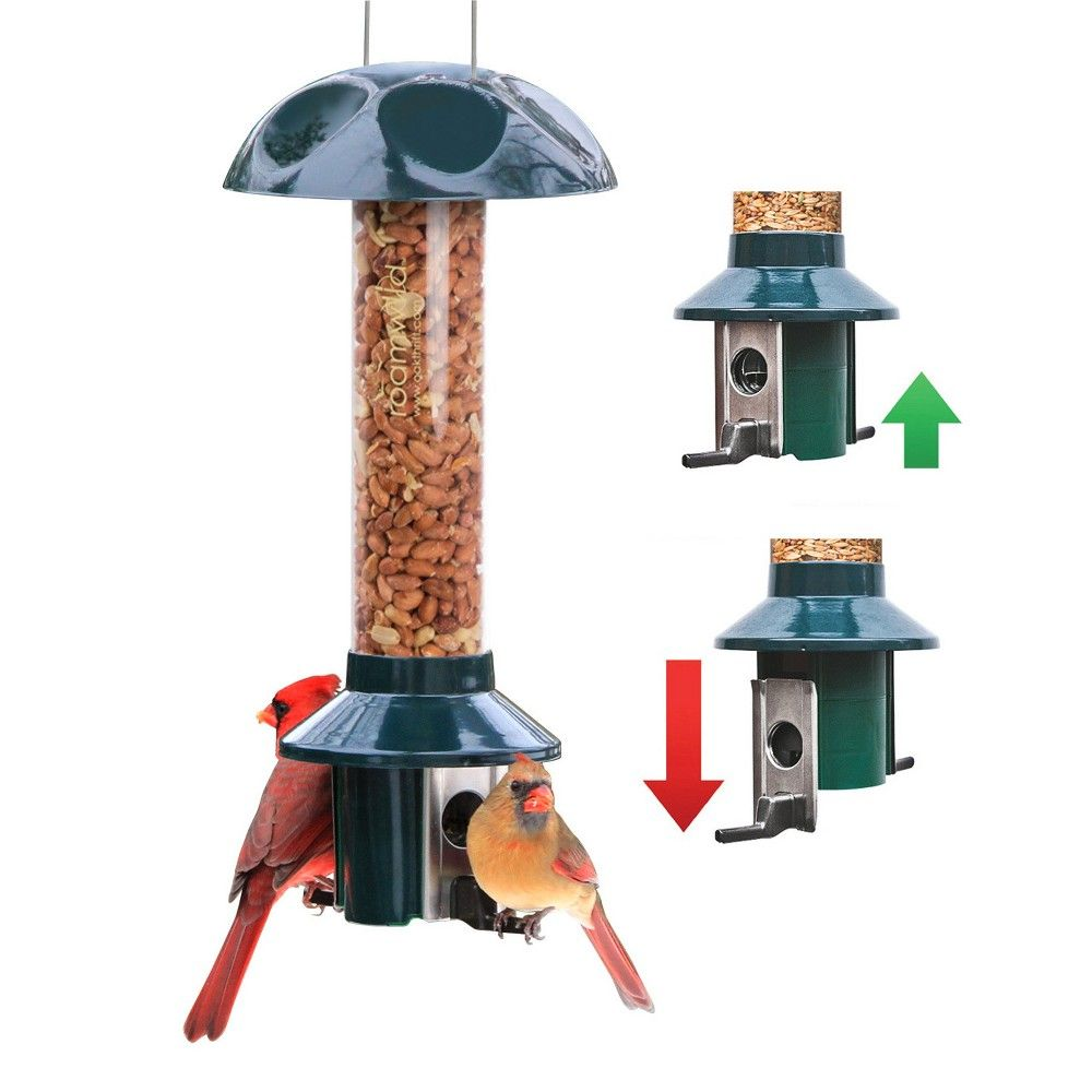 peanut usa in made plans bird polywood amish butter feeder double sided poly the