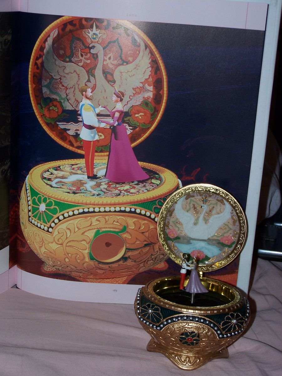 the music box from 20th Century Fox motion picture Anastasia 1997