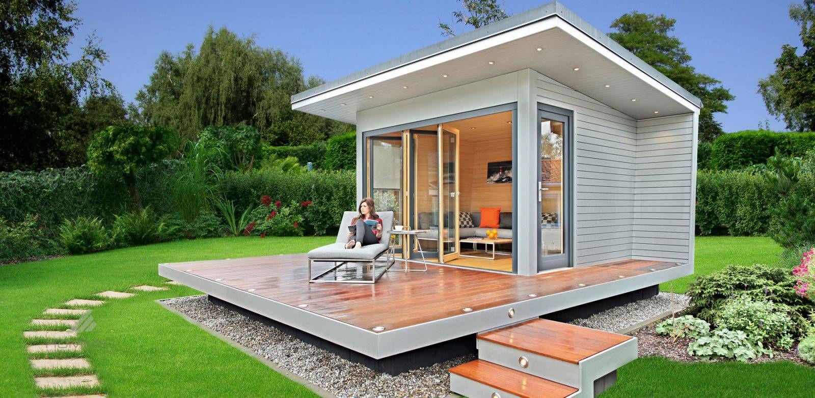 HUMMEL Architekten Gartenhaus