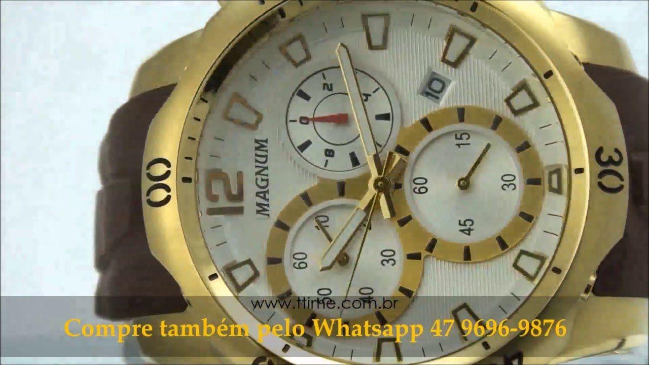 cf320780ffa Relógio Magnum MA33755B (Inscreva-se) | Relógios | Relogios