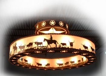 Image Detail For Western Chandelier Cowboy Lighting Rustic