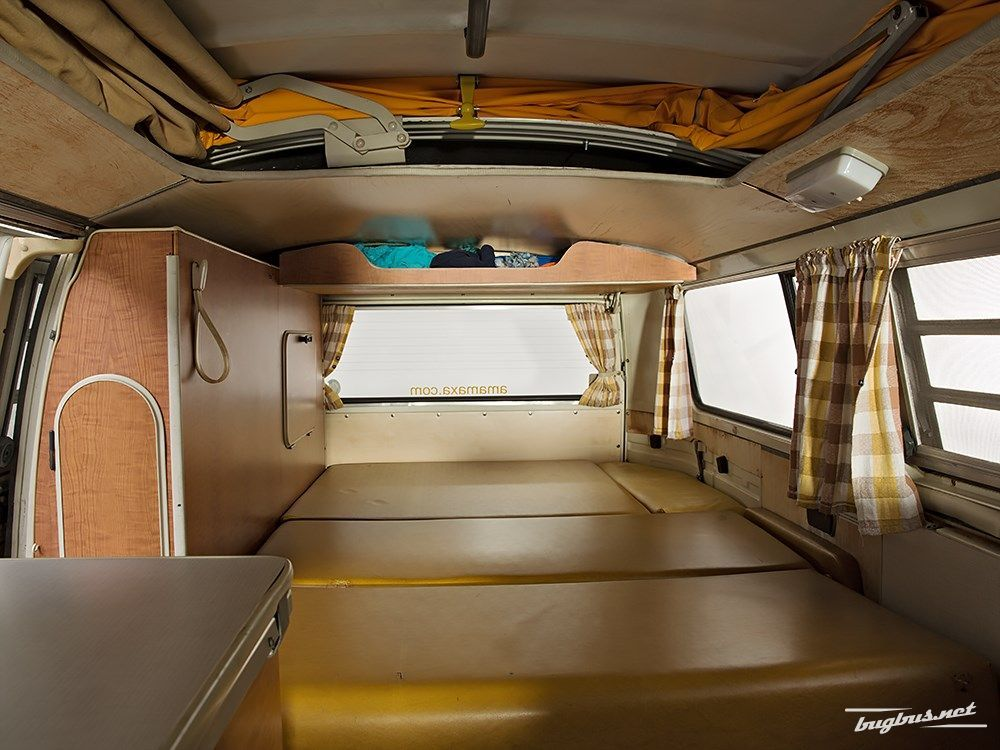 Smooth vinyl interior vw westfalia campmobile for Interior westfalia