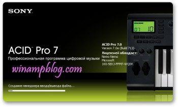 Sony Acid Pro 7 Crack plus keygen Free Download | Projects