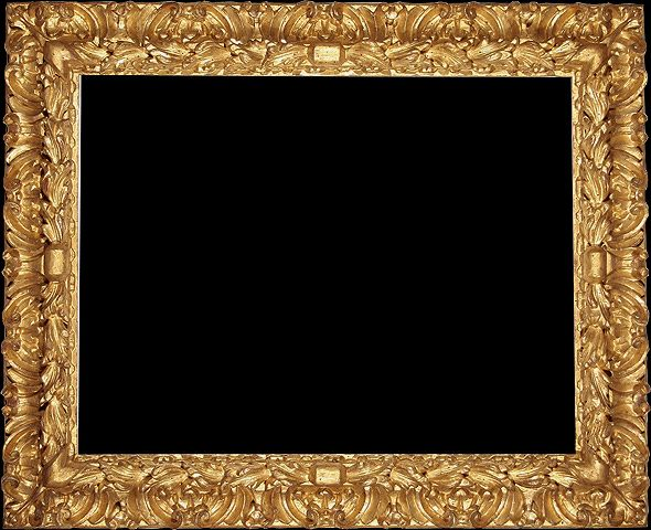 Antique Wood Picture Frame Reproduction - click and see the detail ...