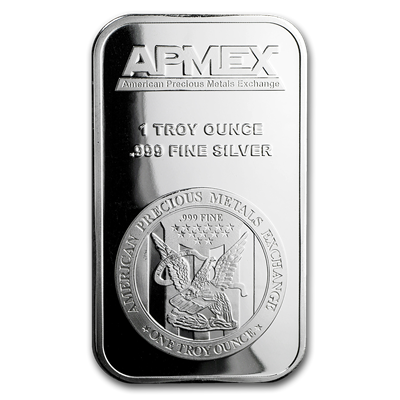 Apmex 1 Oz Silver Bar 999 Fine Silver Apmex In 2020 Silver Bars Silver Coins For Sale Apmex