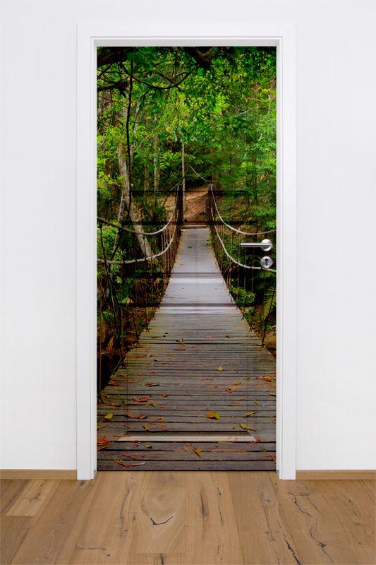 Fototapeta Naklejka Na Drzwi W Dowolnym Formacie Most Home Decor Stairs Decor