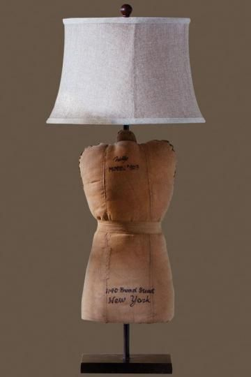 Dress Form Table Lamp   Table Lamps   Lamps   Lighting | HomeDecorators.com