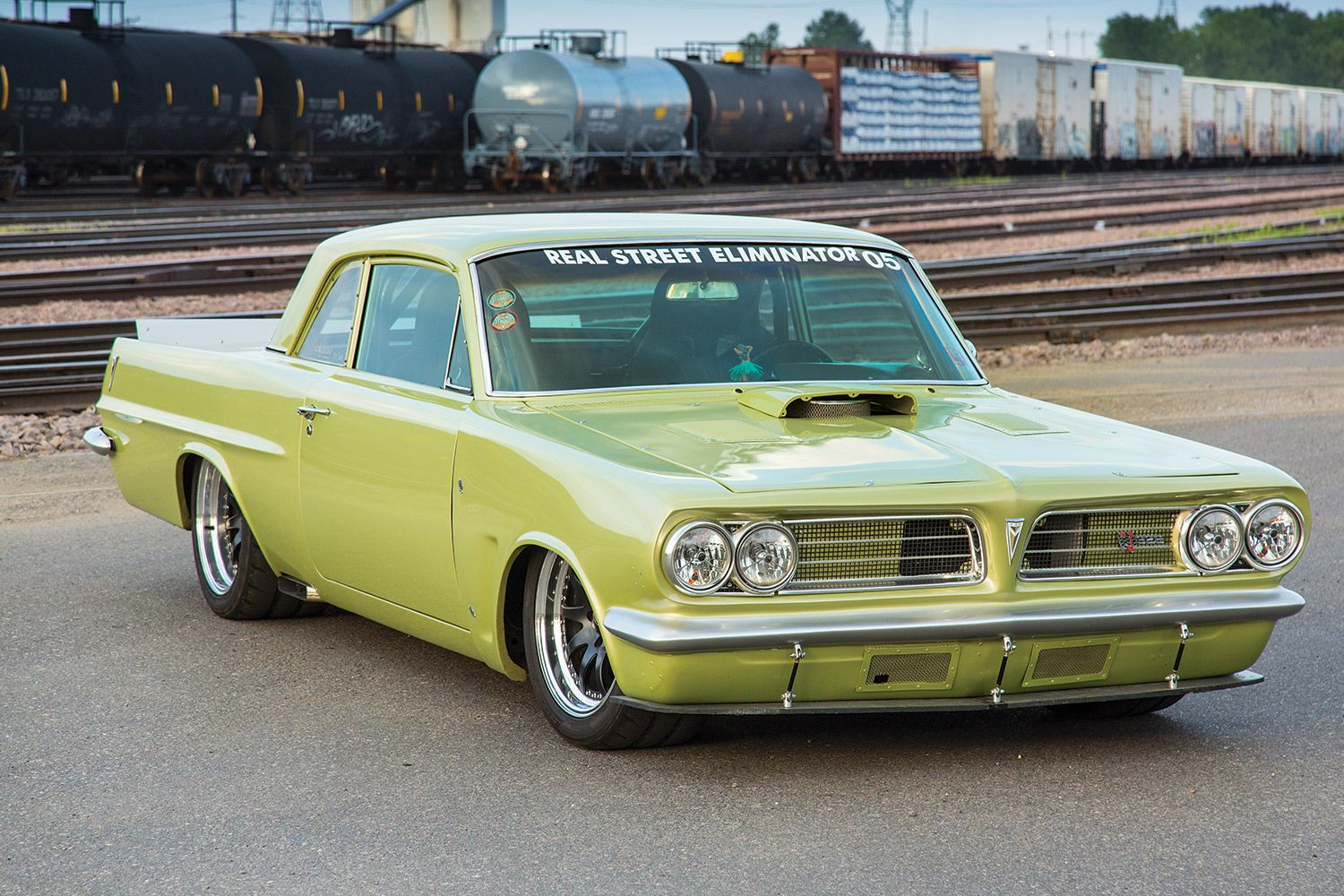 1963 Pontiac LeMans, rarely see these anymore, especially this ...