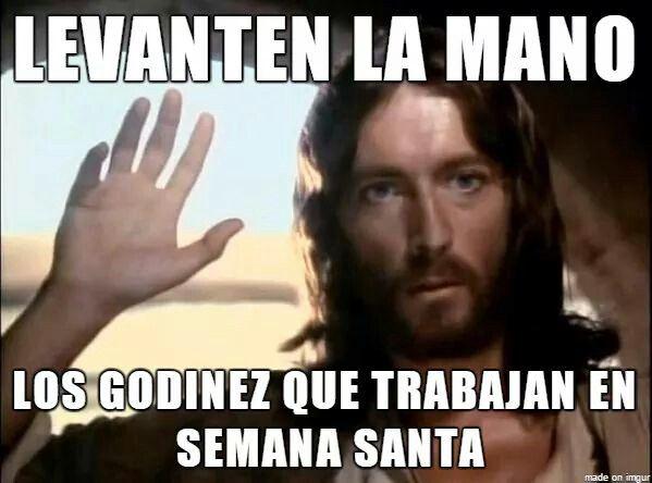Godinez Pascua Viernes Santos Jueves Y Viernes Santo Levanta Las Manos